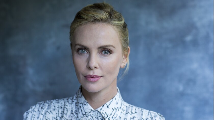 "Charlize Theron, who stars in the new dramedy ""Tully,"" photographed in Los Angeles last month."