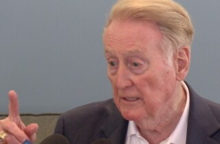 Vin Scully Q&A session at Dodgers spring training