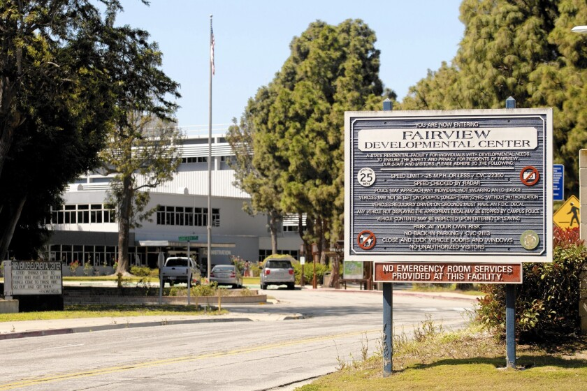 Two state bills are proposing to close the Fairview Developmental Center, a 111-acre facility in Costa Mesa that provides 24-hour care to people with severe developmental disabilities. Though the center once had as many as 2,700 people, today it has around 300.