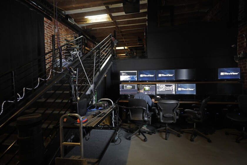 Stargate Studios provides visual effects and production services for film and television including their proprietary ThruView that is an alternative to green screen shooting.  Some VFX artists have continued to work during the pandemic.