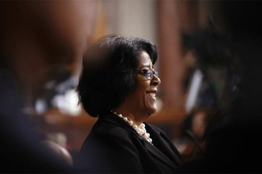 City Councilwoman Jan Perry.