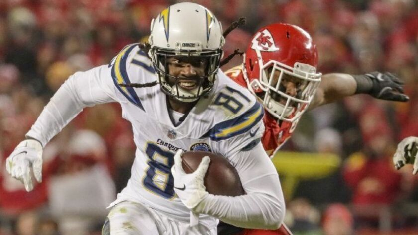 7d6a4262 Column: Mike Williams is finally healthy and the Chargers are ...