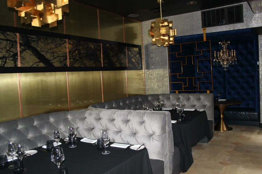 The dining room of Ponsaty's.
