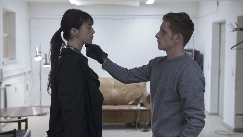 """Charlotte Gainsbourg and Jamie Bell in the movie """"Nymphomaniac."""""""