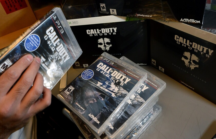 'Call of Duty: Ghosts' game reviews generally down from recent years
