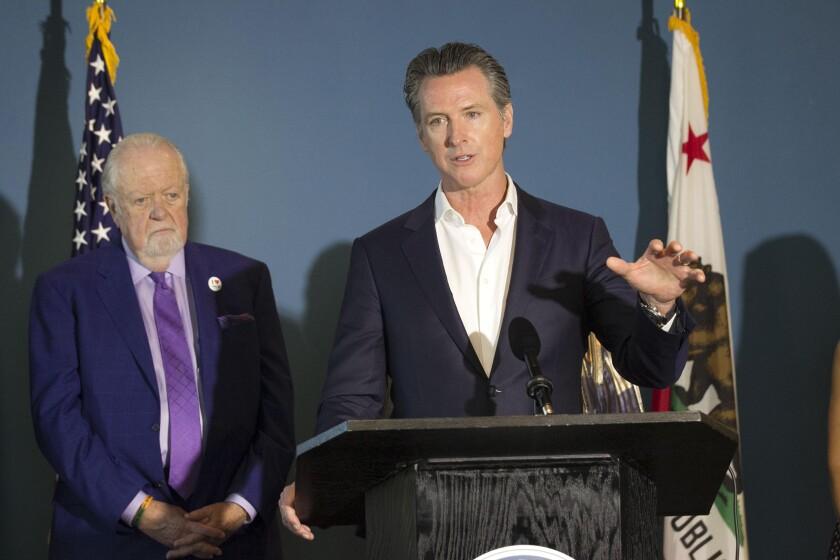 California Governor Gavin Newson