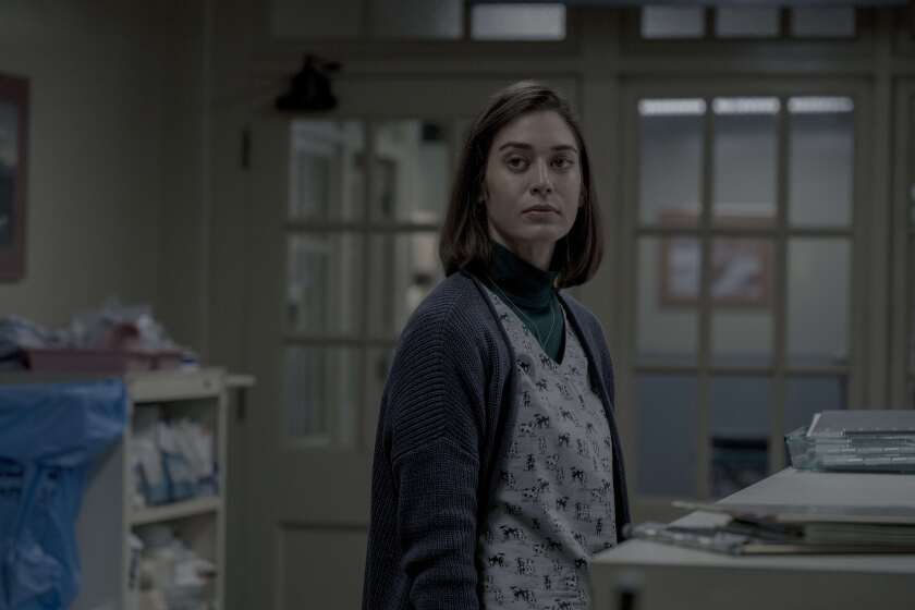 "Lizzy Caplan in Season 2 of ""Castle Rock"" on Hulu."