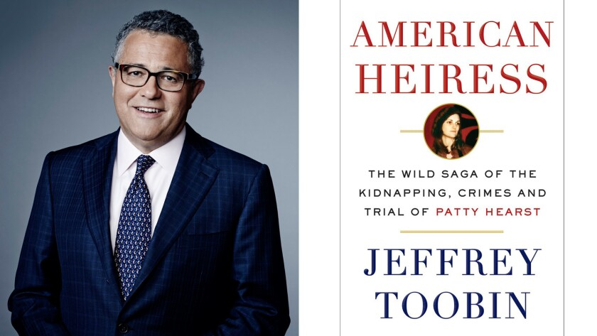 "Author Jeffrey Toobin and his new Patty Hearst book, ""American Heiress."""
