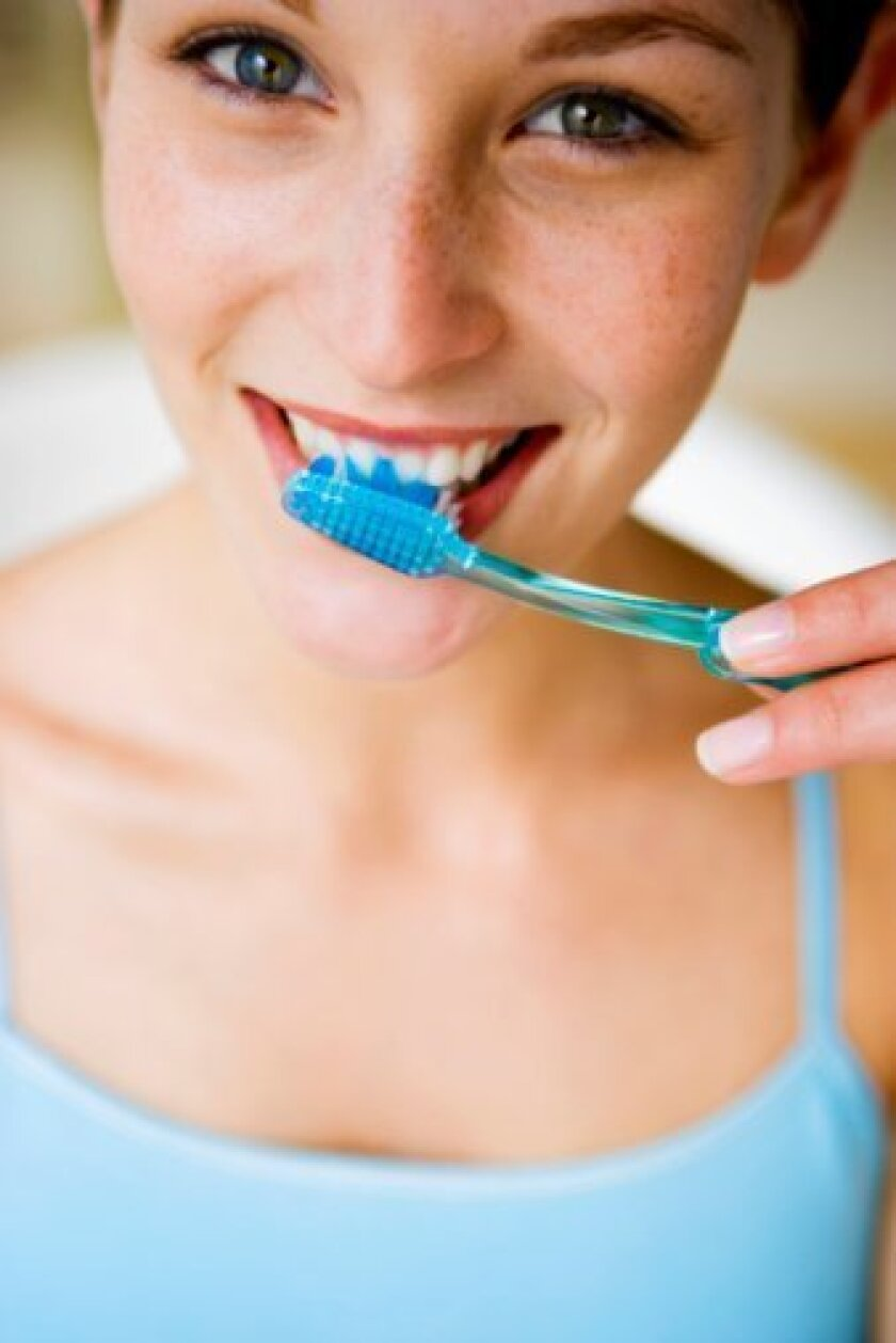 (By Dental Specialist in La Jolla, Dentist Joe D'Angelo) BRUSHING YOUR TEETH 2X A DAY IS YOUR FIRST LINE OF DEFENSE AGAINST BAD BREATH.