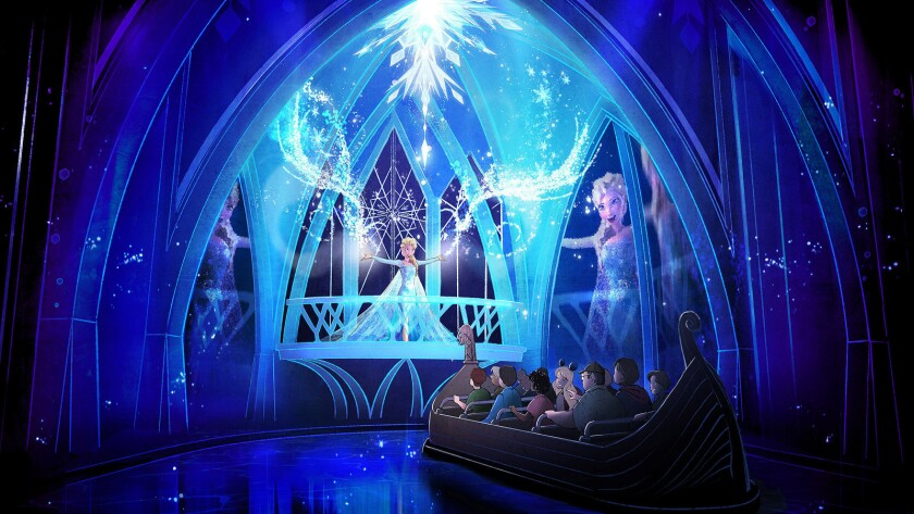 5) Frozen Ever After