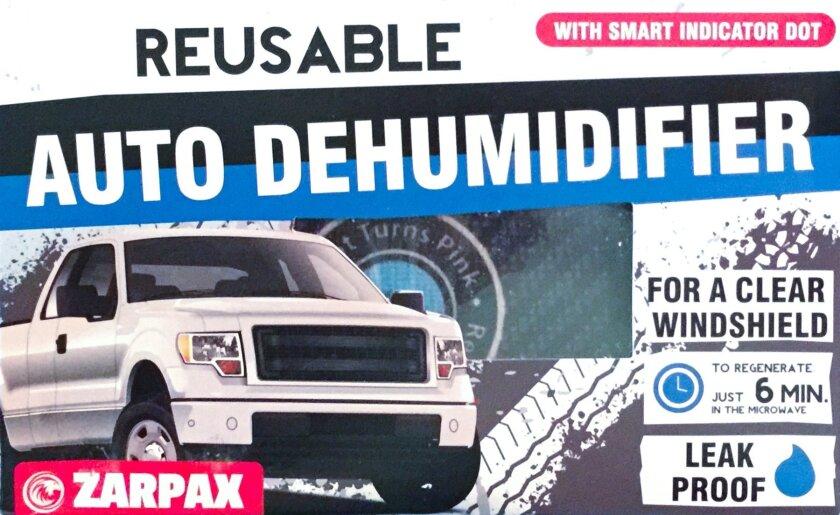 ZARPAX Auto Dehumidifier package
