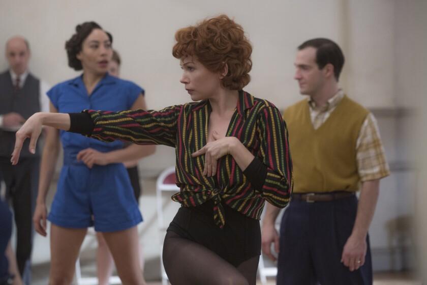 """Michelle Williams as Gwen Verdon in """"Fosse/Verdon."""""""