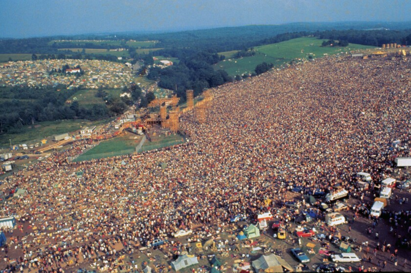 """Woodstock: Three Days That Defined a Generation"""