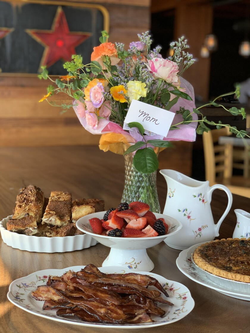 Jimmy's Famous American Tavern is offering brunch kits for Mother's Day.