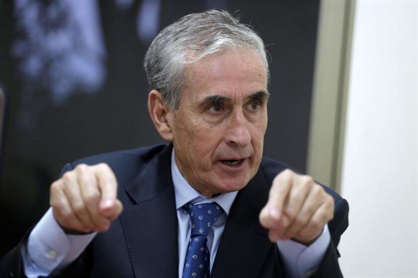 Ramón Jáuregui durante una entrevista con Efe. EFE/Archivo