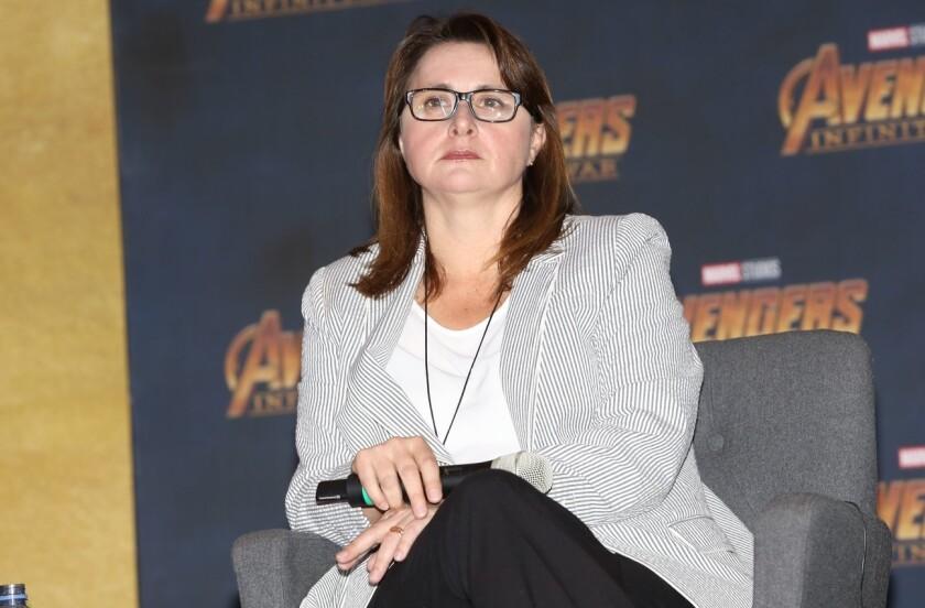 Victoria Alonso ahora será Presidenta de Producción Física y Postproducción, Efectos Visuales y Producción de Animación.