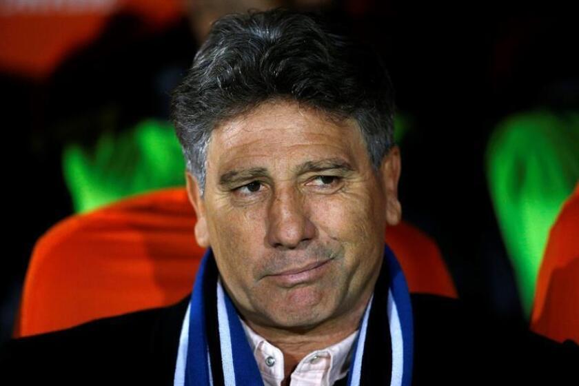 Renato Gaücho, entrenador de Gremio. EFE/Archivo