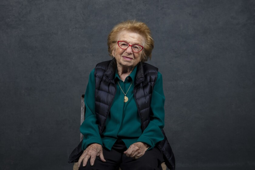 """PARK CITY, UTAH -- JANUARY 26, 2019 -- Subject Ruth Westheimer, from the documentary, """"Ask Dr. Ruth,"""
