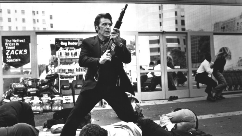 """Al Pacino stars in """"Heat,"""" a sweeping crime story written and directed by Michael Mann."""