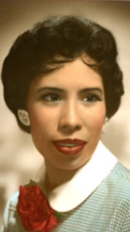 Dolores Robledo fotografiada a los 35 años a mediados de los 60.
