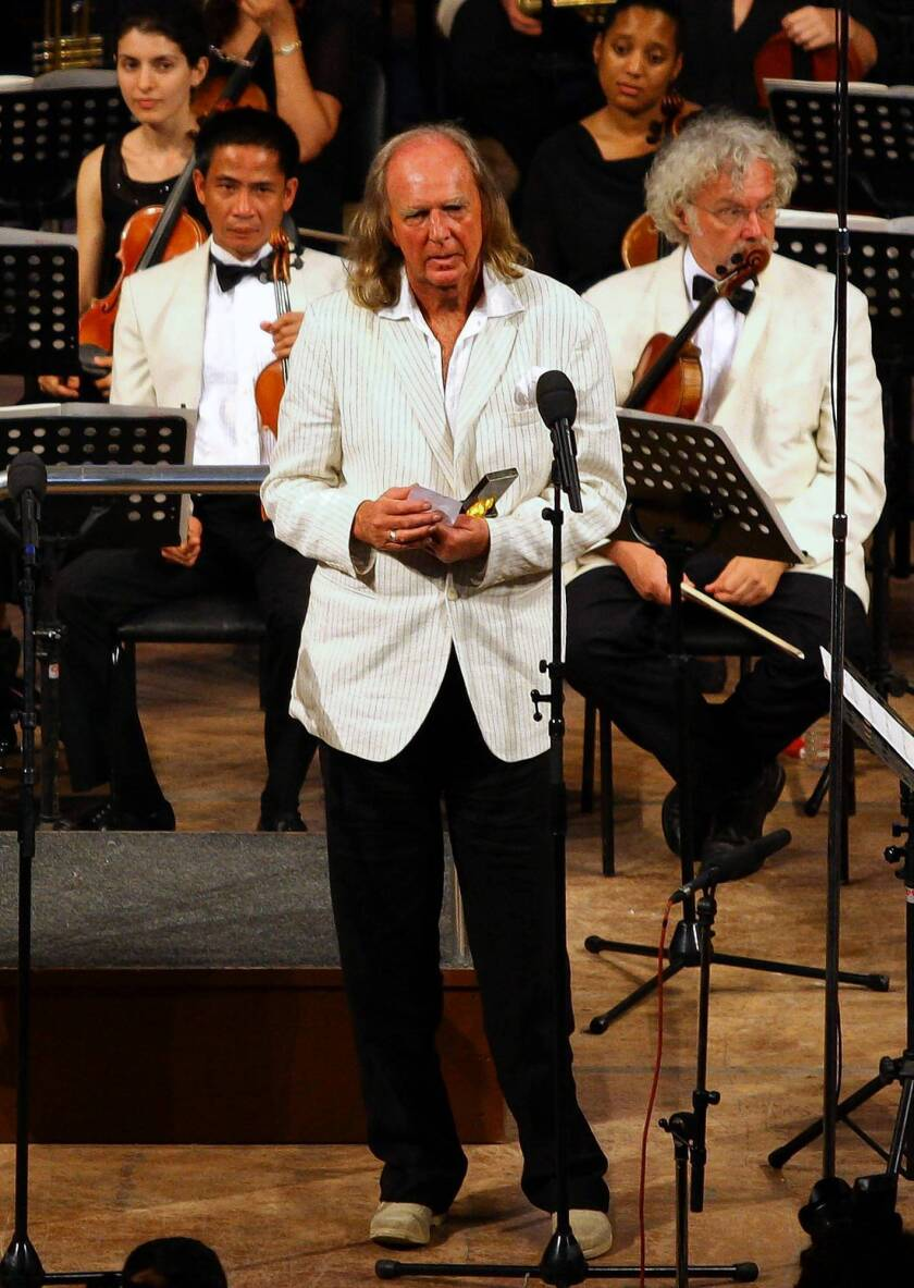 John Tavener dies at 69; composer best known for spiritual pieces