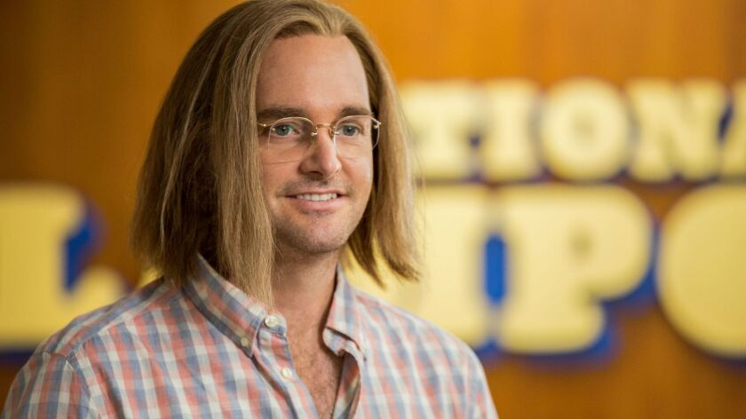 """Will Forte in """"A Futile And Stupid Gesture."""""""