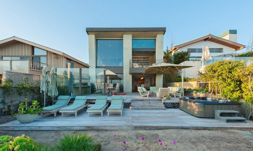 Walter Hill's Malibu beach house