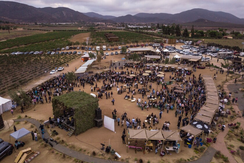 An overview of the Valle Food & Wine Festival, which will mark its third year on Oct. 5 at Javier Plascencia's Finca Altozano restaurant in Baja's Valle de Guadalupe.