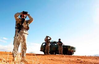 Las tropas de la Guardia Nacional comienzan a llegar a la frontera de EE. UU.-México