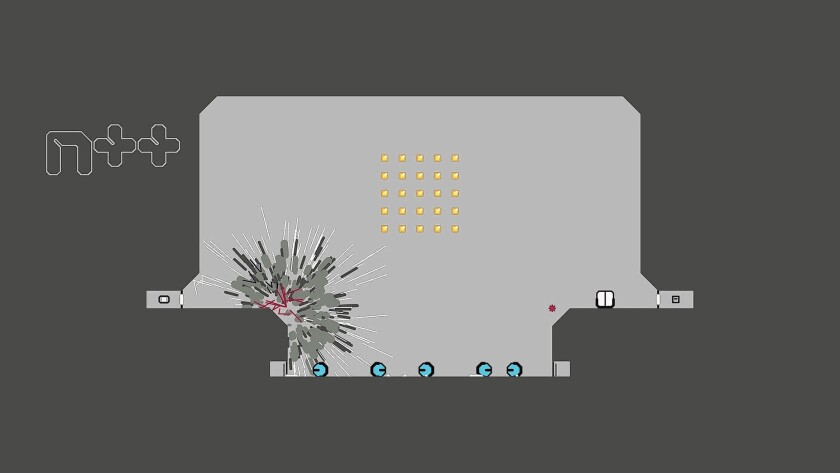 The Player: With 'N++,' color and music added to ninja's world