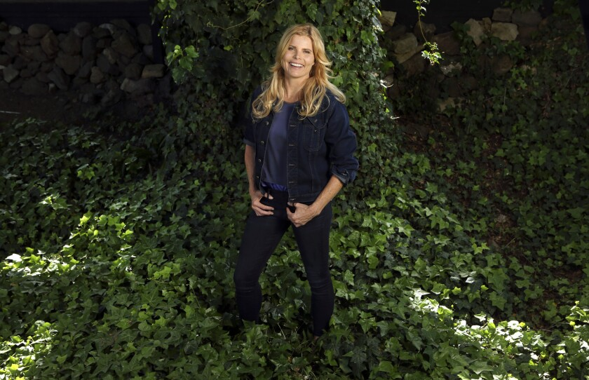 Actress and author Mariel Hemingway at her home in Calabasas. She has written a memoir and a children's book on mental illness.
