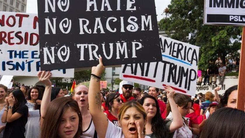 Activistas, inmigrantes y comerciantes de Wisconsin realizaron, el 13 de febrero de 2017, protagonizaron un paro laboral, una marcha y un boicot en repudio al perfil racial y a las órdenes migratorias de Donald Trump y la colaboración de las autoridades locales.