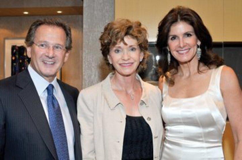 Martin Katz, Susan Hoehn, Kelly Katz. Photos by Rob McKenzie