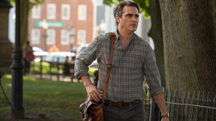 """Joaquin Phoenix appears in a scene from Woody Allen's """"Irrational Man."""""""