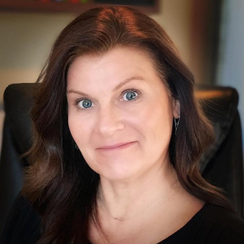 Gina Fischbach, founder of Civetta Design in Ramona.