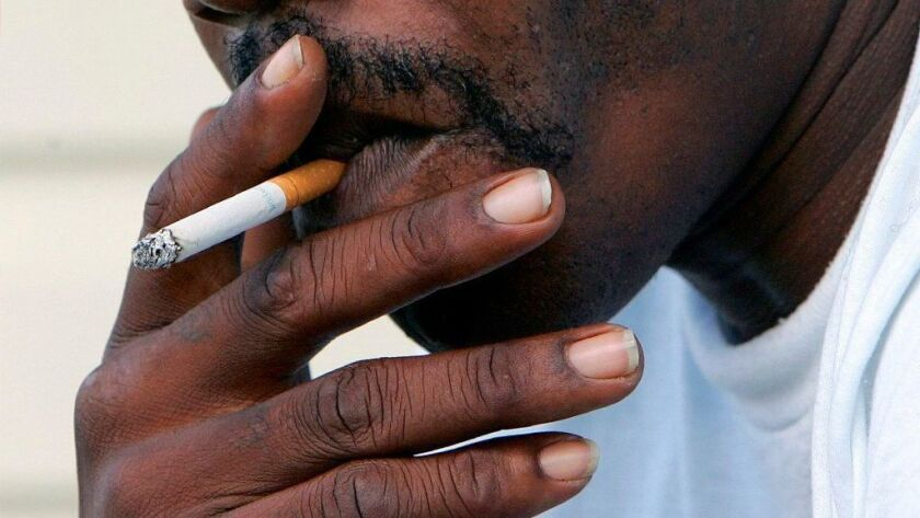 Cancer deaths have dropped for all Americans, but rates have fallen faster for black people. Experts cite a drop in smoking among blacks.