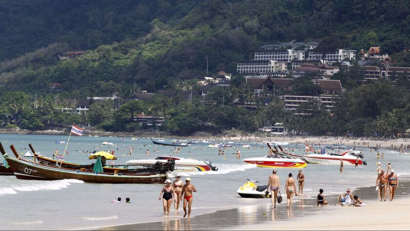 You can fly round-trip form LAX to Phuket, Thailand, for $400 on China Southern.