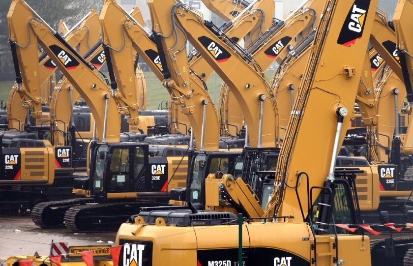 Profits crater for equipment maker Caterpillar as mining slumps