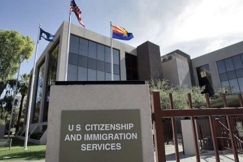 U.S. Citizenship and Immigration Services said Friday that it had already received enough applications for H-1B visas to reach the cap of 85,000 for next year.