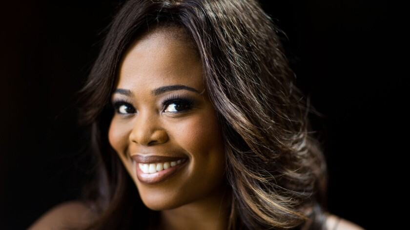 """Pretty Yende first came across opera in a TV commercial. """"It didn't sound human at all,"""" she says. But it became a passion and then a career, including an upcoming star turn in L.A. Opera's """"Figaro."""""""