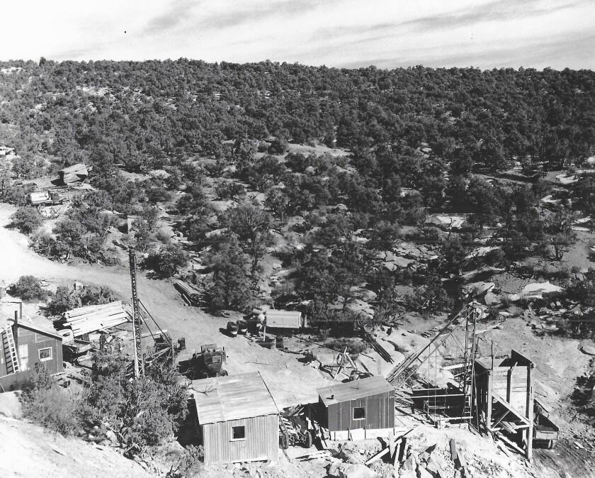 An undated photo of the controversial Mi Vida mine near Moab, Utah.