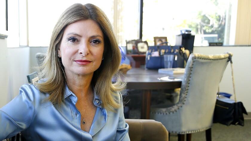 WOODLAND HILLS, CA.,OCTOBER 13, 2017--Profile of attorney Lisa Bloom, daughter of attorney Gloria Al