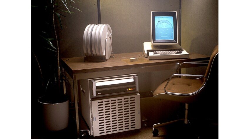 PARC's revolutionary 1973 personal computer, the Alto, had a high-quality display screen, network co