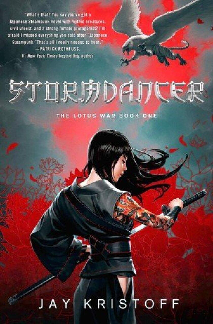 'Stormdancer' by author Jay Kristoff.