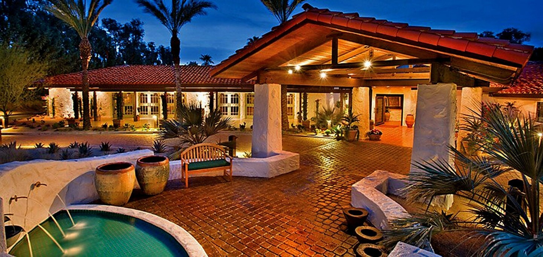 Amenities at the La Casa del Zorro Desert Resort include five swimming pools, a spa, tennis courts and a fitness center.