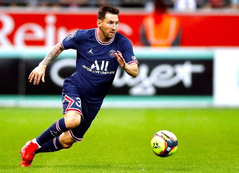 El PSG presume el debut de Messi y Twitter 'explota' (Galería) - Los  Angeles Times