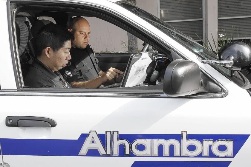 Alhambra police use Weibo