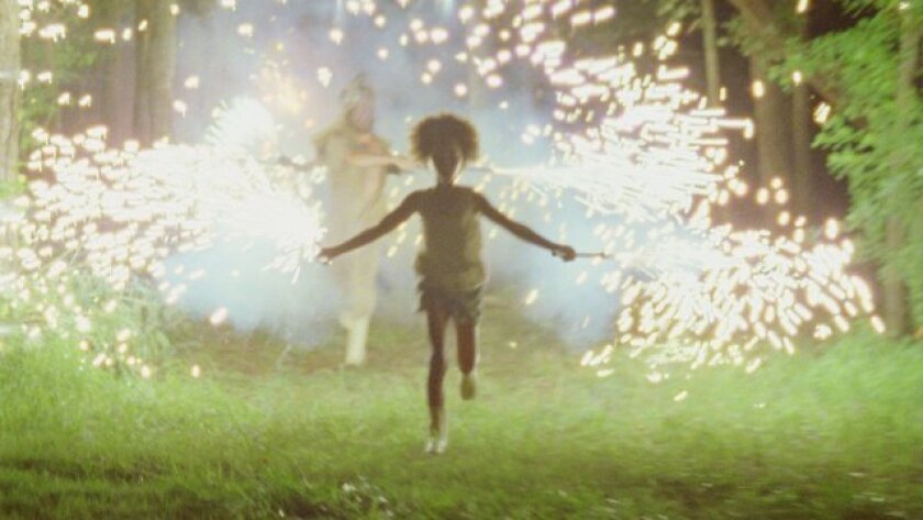 "Quvenzhane Wallis in ""Beasts of the Southern Wild."""