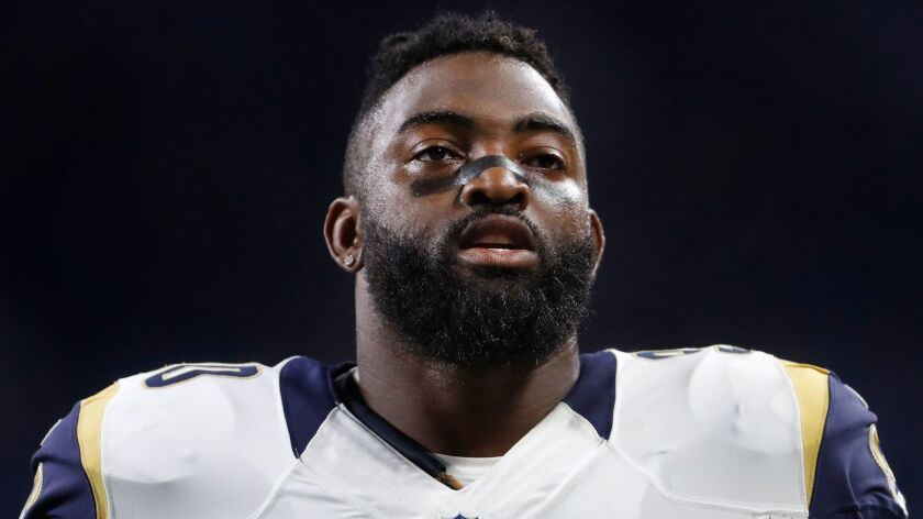 Michael Brockers agreed to a deal with Baltimore before it fell through, and the defensive lineman re-signed with the Rams.