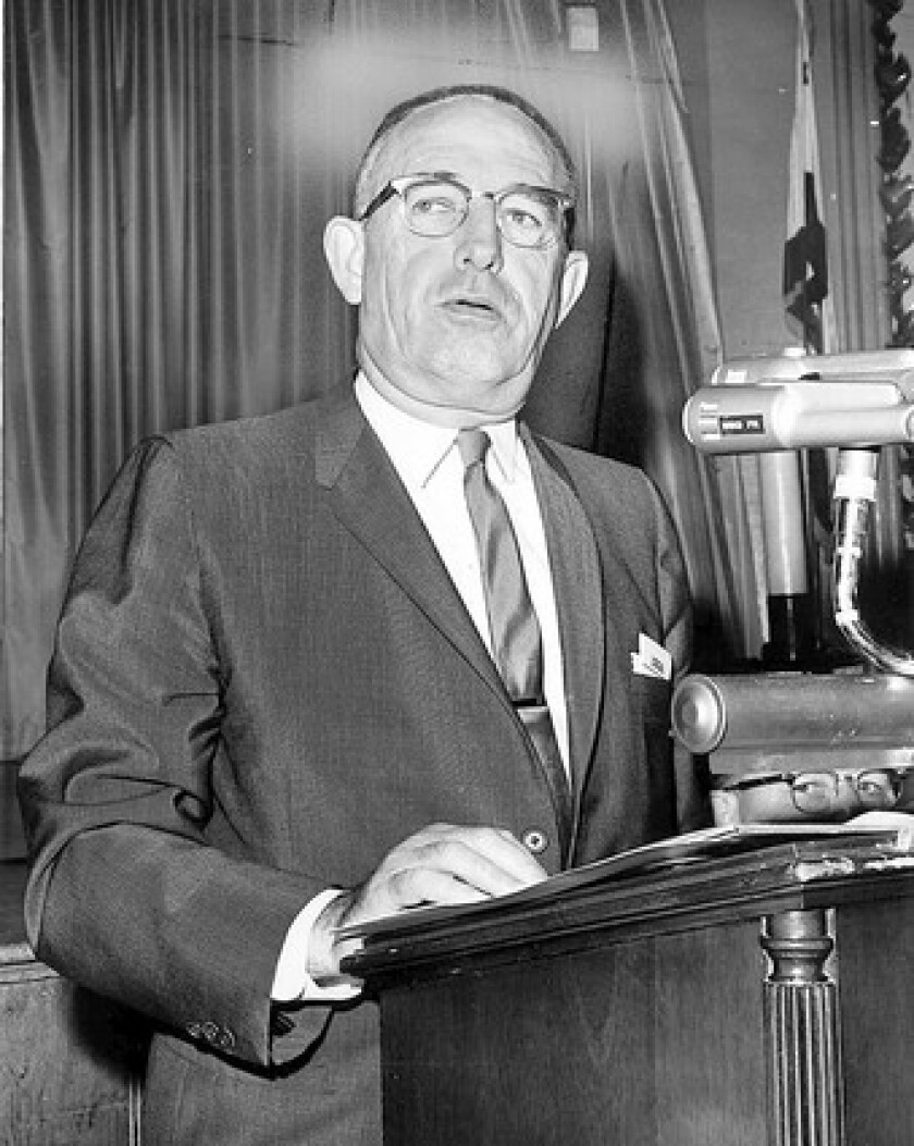 Former L.A. Police Chief William H. Parker